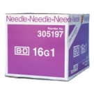 BD Precision Glide Needle Only 16 Gauge 1