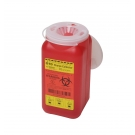 BD 305557, Sharps Collector 1.4QT (Red)