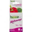 Beano Meltaway Food Enzyme Dietary Supplement Strawberry - 15ct