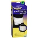 Lumbar Sacral Support Medium White - 1ct