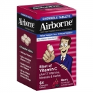 Airborne Immune Support Supplement Chewable Tablets,  Berry- 32ct