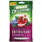 Halls Defense Sugar Free Supplement Drops, Pomegranate Berry- 17ct