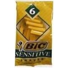 Bic Classic Shaver Sensitive 6ct