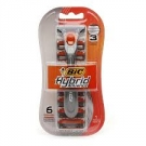 Bic Hybrid Advance Razors- 1 Razor + 6 Cartridges