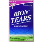 Bion Tears Eye Drops - 28 Single-Use Vials