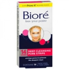 Biore Deep Cleansing Pore Strips Combo- 14ct