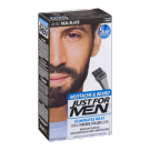 Just For Men Brush-In Mustache Beard & Sideburns Gel (Real Black) - 1oz