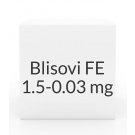 Blisovi FE 1.5-0.03mg Tablets- 28 Tablet Pack