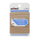 Scünci No Damage Elastics, Blonde, 18ct- 3 Packs