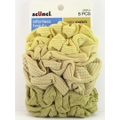 Scünci Color Match Twister, Blonde, 8ct- 3 Packs