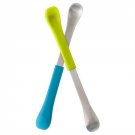 Boon Swap 2-in-1 Feeding Spoon, Blue/Green- 2 pack ** Extended Lead Time **