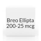 Breo Ellipta 200-25mcg  Inhaler - 60 Blisters (30 Doses)