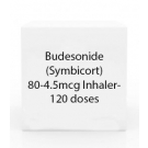 Budesonide (Symbicort) 80-4.5mcg Inhaler- 120 doses