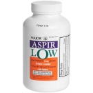 Aspir-Low 81mg EC Tablets - 1000 Count Bottle