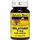 Nature's Blend Melatonin 5 mg Tablets 60ct