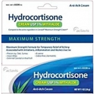 Hydrocortisone 1% Cream With Aloe Maximum Strength Anti-itch 1oz