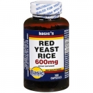 Basic Vitamins Red Yeast Rice 600 mg - 120 ct