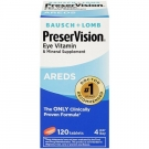 PreserVision Eye Vitamin & Mineral Supplement with AREDS Tablets 120ct