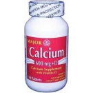Calcium with Vitamin D (600 mg - 200 IU) - 150 Tablets