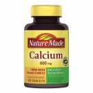 Nature Made Calcium Adult Tablets- 60ct