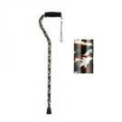 NOVA Medical Products Offset Single Point Cane, Camo