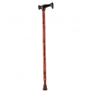 NOVA Medical Products T-Grip Designer Cane, Mahogany