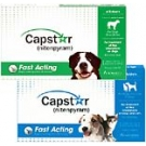 Capstar Flea Treatment Tablets (For Dogs Over 25lbs) - 6-pack (Green)