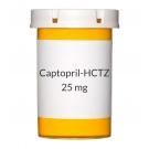 Captopril-HCTZ 25-25mg Tablets