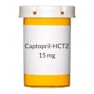 Captopril-HCTZ 50-15 mg Tablets