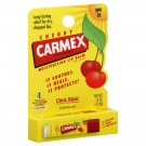 Carmex Medicated Lip Balm Stick SPF 15 Cherry, Box of 12/0.15 oz