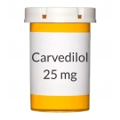 Carvedilol 25mg Tablets