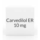 Carvedilol ER 10mg Capsules