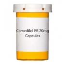 Carvedilol ER 20mg Capsules