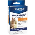 PetArmor® Worm-Away Caps Cats- 12ct
