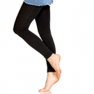 Foot Traffic Fleece Lined Leggings, Black