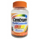 Centrum MultiGummies Multivitamin Gummies for Adults Natural Cherry, Berry & Orange - 70ct