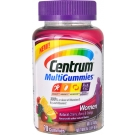 Centrum MultiGummies Multivitamin Gummies for Women Cherry, Berry, Orange Flavor - 70ct