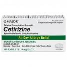 Cetirizine Hydrochloride (10mg) - 100 Tablets