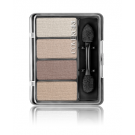 CoverGirl Eye Enhancers 4-Kit Shadows, Natural Nudes - .19oz Case- 3ct ** Extended Lead Time **