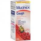 Mucinex Children's Expectorant/Cough Suppressant Liquid, Cherry- 4 oz