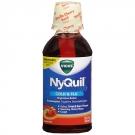 Vicks Nyquil Cold & Flu Relief Liquid, Vanilla Cherry Swirl- 12oz
