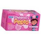 Childrens Pepto Chewable Tablets Bubble Gum 24ct