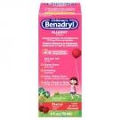 Benadryl Children's Allergy Liquid, Cherry- 4oz