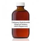 Citalopram Hydrobromide 10mg/5ml Solution- 240ml (Peppermint)