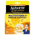 Airborne Everyday Citrus Blast Multivitamin Effervescent Tablets - 20ct