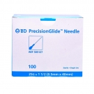 BD 305127, Regular Bevel Needles 25 Gauge, 1.5