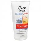 Neutrogena Clear Pore Skin Cleanser/Mask- 4.2oz