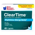 GNP® Clear Time Diphenhydramine Allergy 25mg Caplet- 48ct
