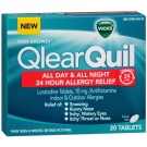 Vicks® QlearQuil All Day & All Night 24 Hour Allergy Relief Tablets- 20ct