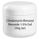 Clindamycin-Benzoyl Peroxide 1-5% Gel (50g Jar)